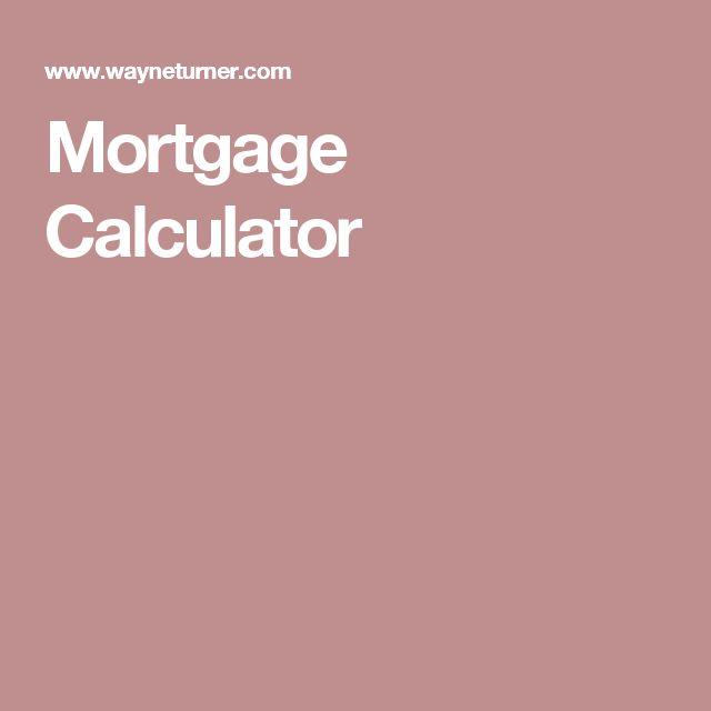 Les 25 meilleures idées de la catégorie Mortgage amortization sur - mortgage amortization calculator