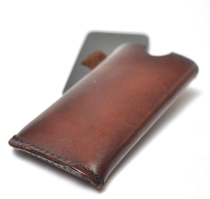 Læder Etui /sleeve til iPhone 5-7