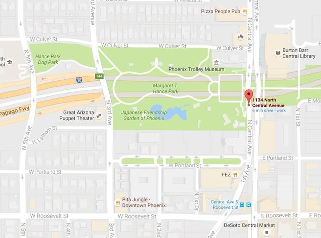 How Do I Get to Margaret T. Hance Park (the Deck Park) in Phoenix?: How to Get to Hance Park in Phoenix