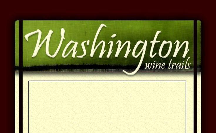 Washington wine trails board game.