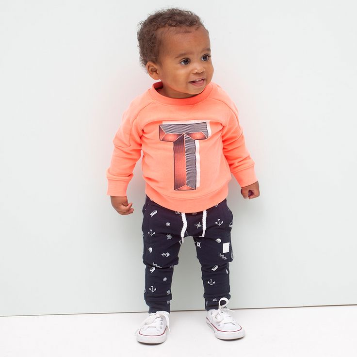 Zonnige en stoere baby sweater van Tumble 'n Dry. Just arrived.