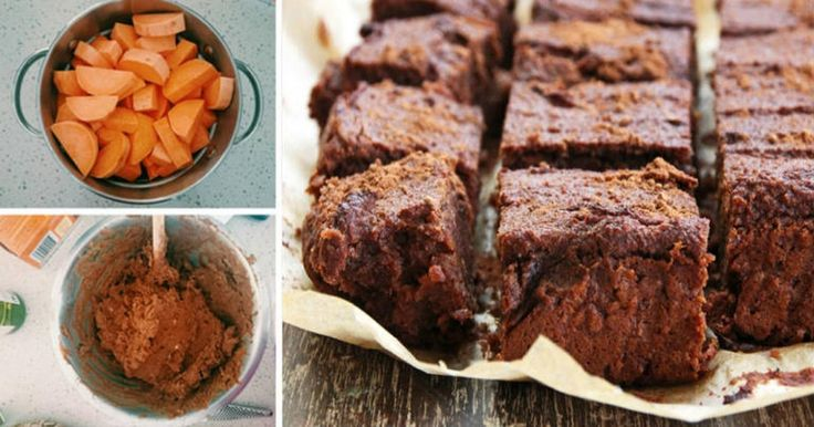 5-Ingredient Anti-Inflammatory Sweet Potato Brownies With Almond Butter, Cocoa And Maple Syrup - Daily Health Post