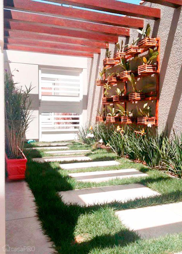 35 pergolados projetados por profissionais do CasaPRO - Casa #pergolado #deck #vasosdeplantas