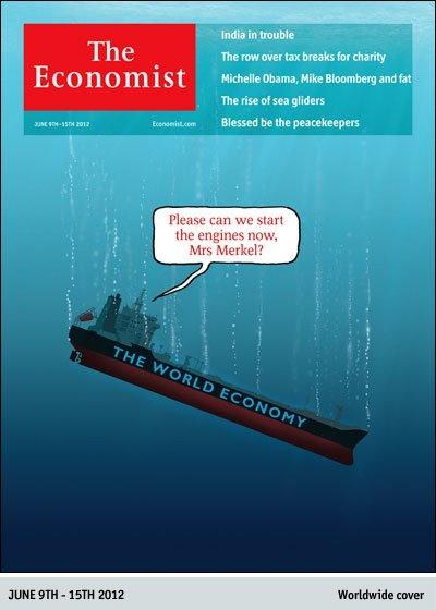The Economist - June 9, 2012: Magazine Covers, Engine, The Economist