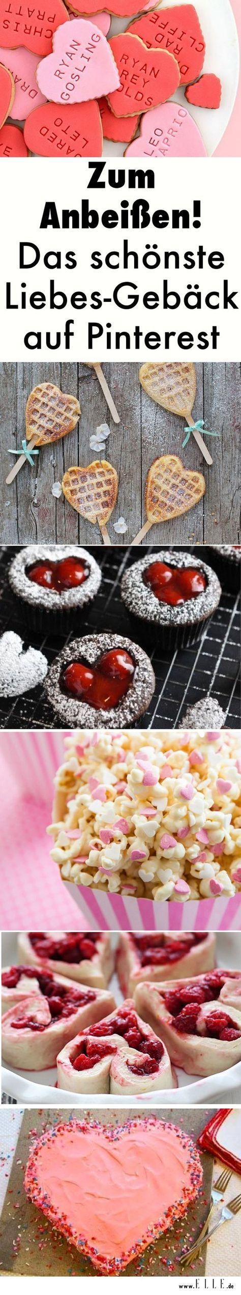 Valentinstag: Was gibt es Schöneres, als den Partner mit einem selbstgebackenen Liebesgeständnis zu überraschen? Hier sind die schönsten Ideen auf Pinterest.