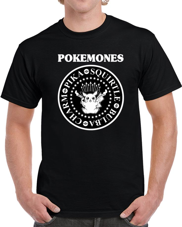 Pokemones Charm Bulba Pika Squirtle  T Shirt
