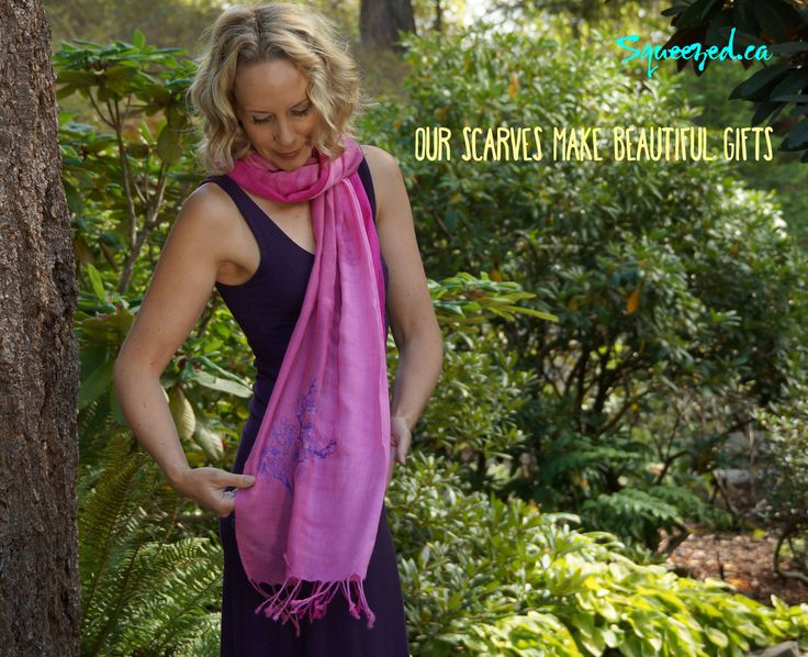 Squeezed has Just the Right Scarf for everyone on Your List http://squeezed.ca/shop/category/scarves