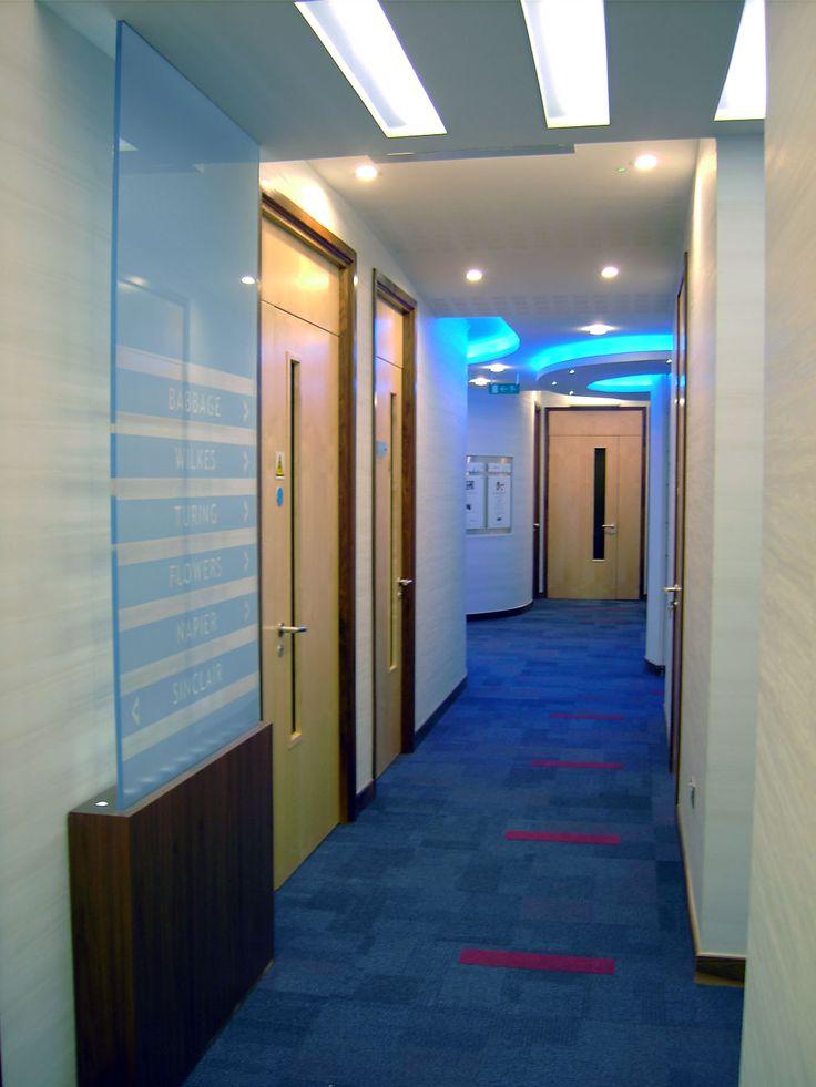 Coda Harrogate training suite corridor