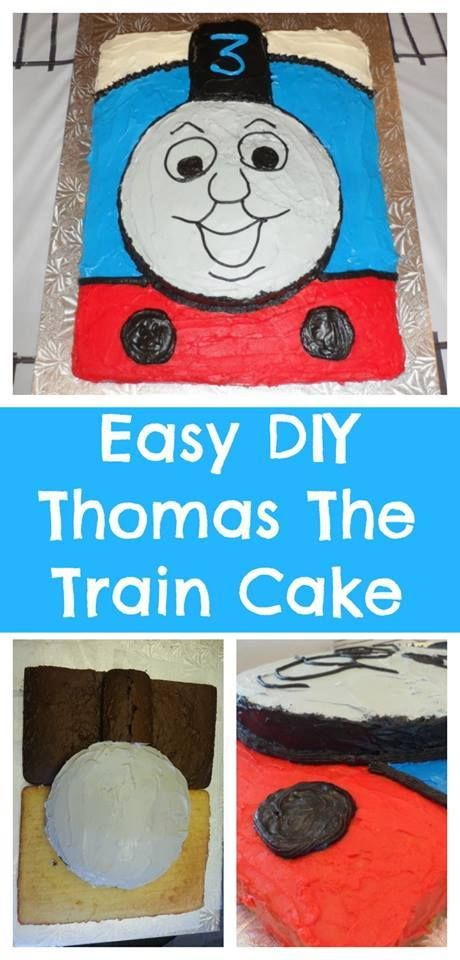 I Love Birthday Cakes That Are EASY To Make At Home When My Little One Announced He Wanted A Thomas The Tank Engine Party Decided Take Train
