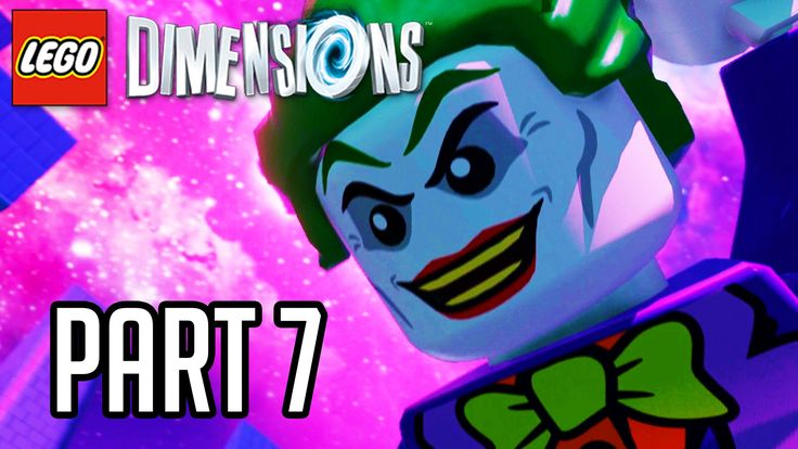 LEGO Dimensions Walkthrough Part 7 - JOKER BOSS!! (Gameplay PS4/XB1/Wii ...