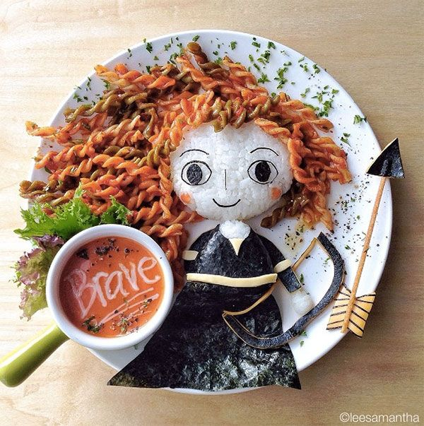 Too cute to eat: the amazing food art of Samantha Lee