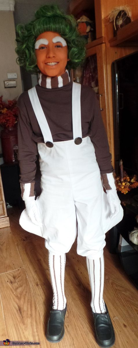 Oompa Loompa Costume - Halloween Costume Contest via @costume_works