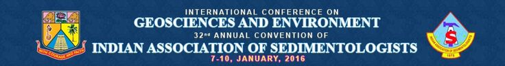 #geocongress International Conference on Geosciences and Environment & 32nd Annual Convention of Indian Association of Sedimentologists (IAS). Annamalainagar, India. 07 Jan 2016 → 10 Jan 2016. ICGEN-IAS-2015 will place a platform where renowned speakers and scientists across the globe will present their knowledge, which will be helpful for the young researchers. The important features of this conference are well organized panel discussion, interactive sessions and field geology. ICGEN…