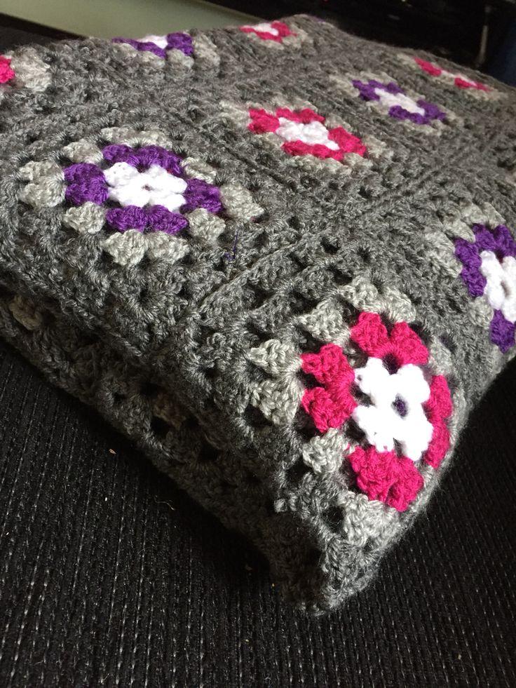 Grannysquare blanket