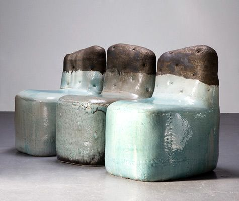 sculpture or furniture? The Ceramic Furniture of Hun-Chung Lee