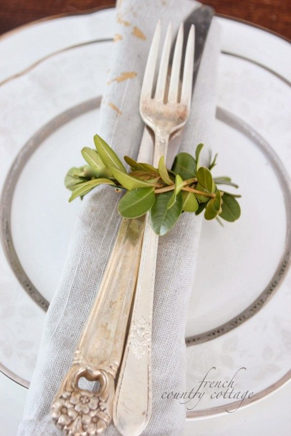 Diy christmas napkin rings 42 best Servetten