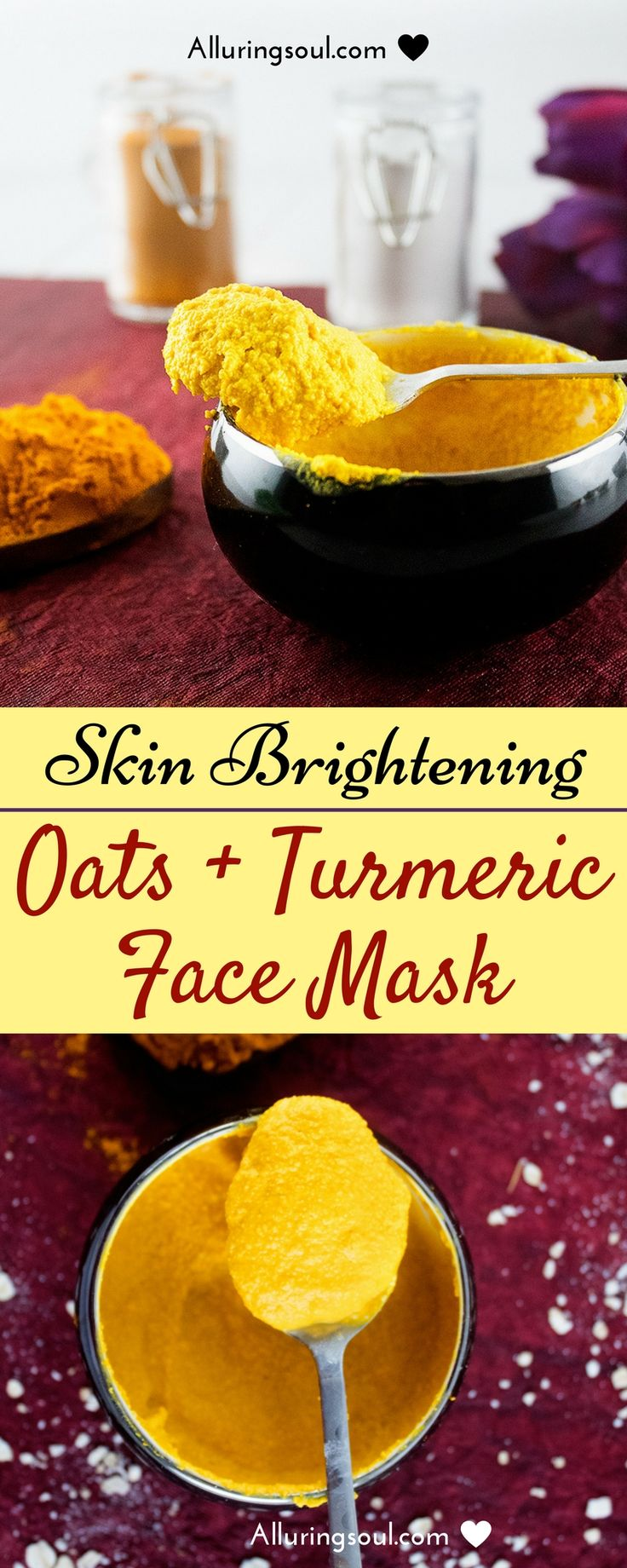 Turmeric face mask is a golden boon for our skin. It cures skin problems like acne, large pores, lightens skin tone and exfoliates dead skin cells.