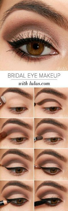 How-to Eye Makeup For Brown Eyes Trusper