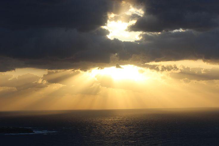 Santorini sunsets are heavenly. #Santorini #Greece #Love