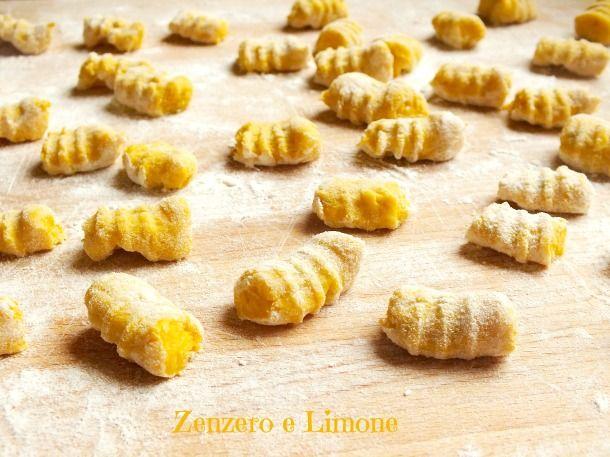 GNOCCHI ZUCCA e PATATE | ricetta base