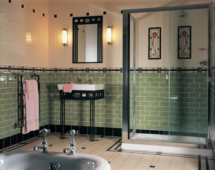 Artworks Mackintosh Style Bathroom For The Lottery Win House