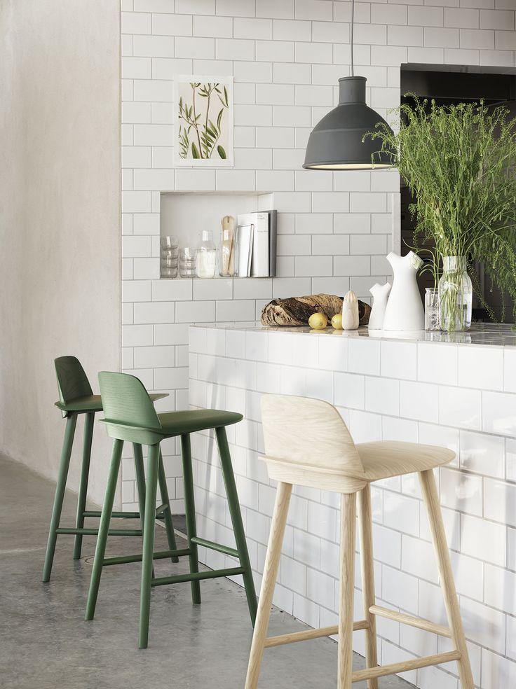 Nerd Bar Stool designed by David Geckeler for Muuto >>> Danish simplicity at it's most evident. #Muuto #BarStools #Danish