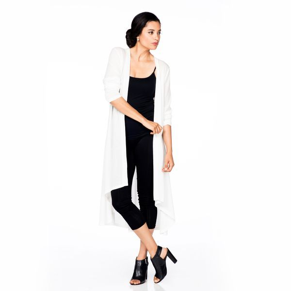 Maxi Duster in Ivory