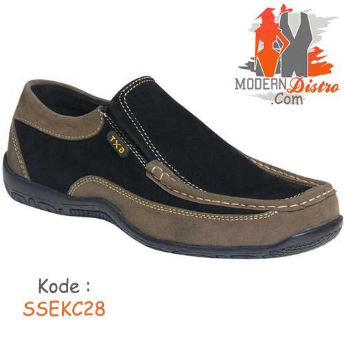 Sepatu Pria Casual Salmon SSEKC28 | ModernDistro.com