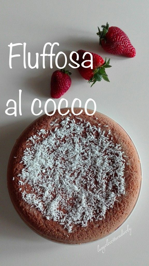 Fluffosa al cocco