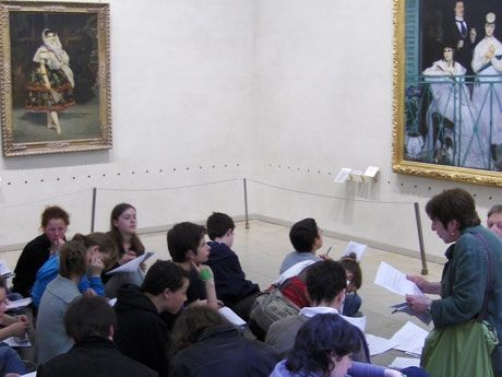 8 Ways to Liven Up the Museum Field Trip from artist and educator Stacey Goodman.