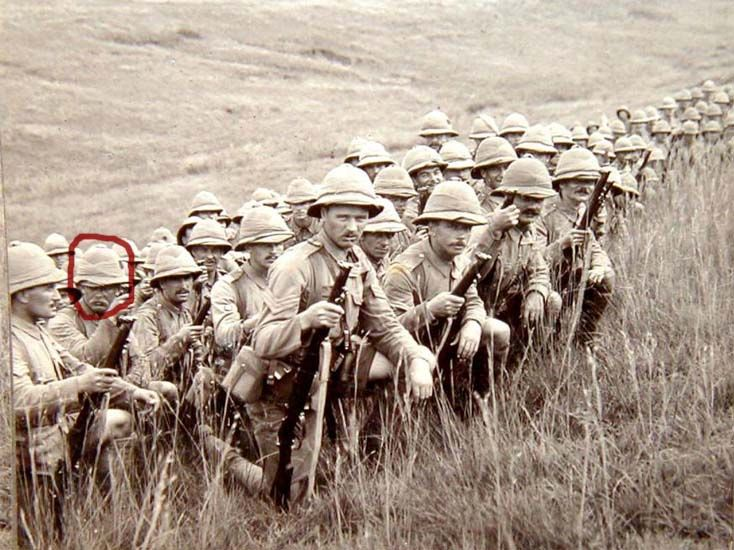 2nd Bn XX The Lancashire Fusiliers. South Africa
