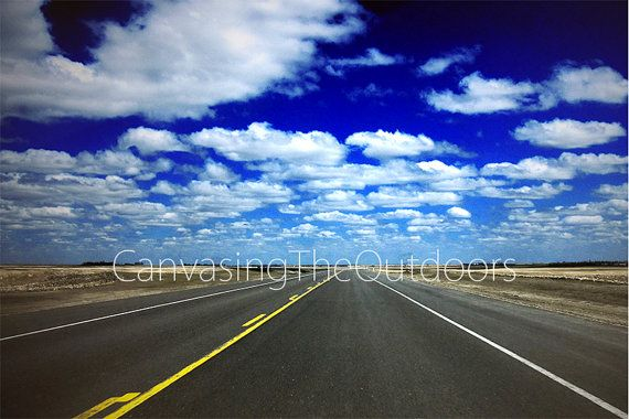 Summer Country Highway Canvas Wall Art by CanvasingtheOutdoors