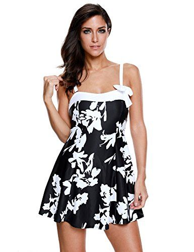 Special Offer: $23.99 amazon.com The sweetheart bowknot beach dress is your go-to dress for your summer vacation, this one piece swimsuit comes with adjustable and removable straps, padded cups with wireless design make it soft and comfortable to wear, just take it for your relaxed swimming...