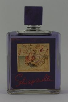 Schiaparelli 'Shocking Radiance' perfume bottle with label designed by Salvador Dali, with contents, circa 1940s - Perfume Bottles & Ephemera 13 - 17 December - Auction Atrium