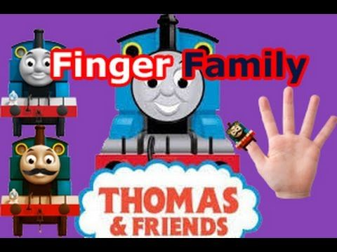 THOMAS AND  FRENDS Finger Family Nursery rhyme with lyrics HD song