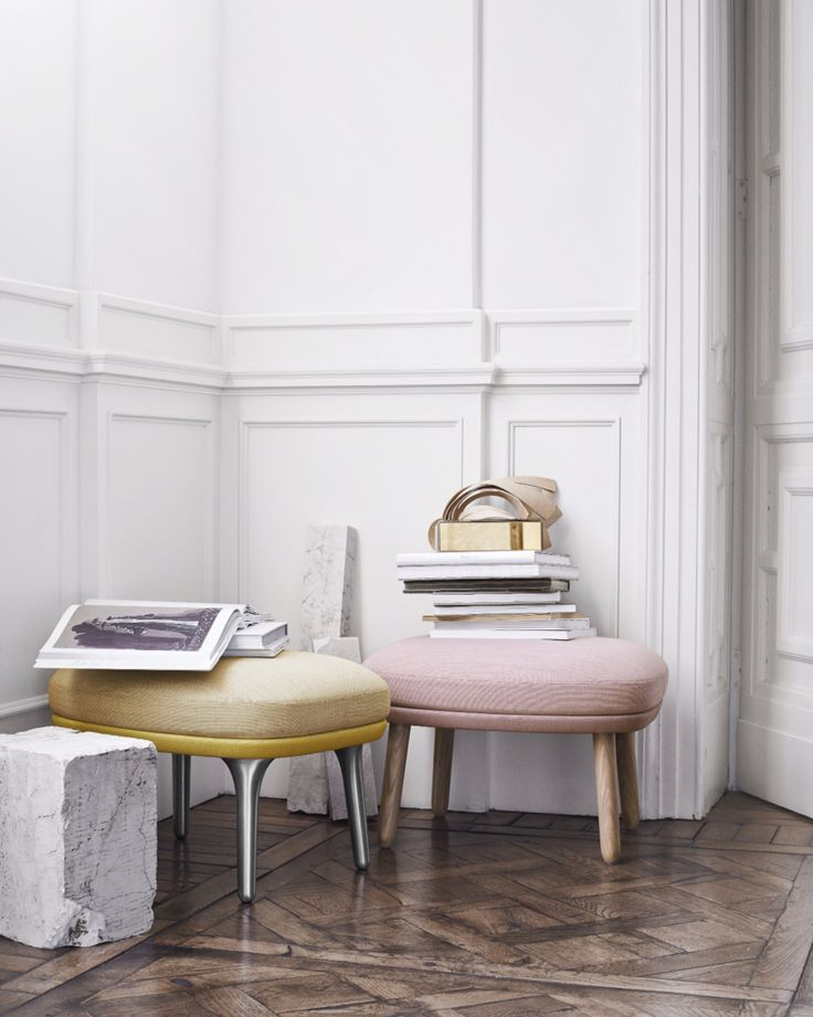 Fritz Hansen - Ro™ footstool by Jaime Hayon