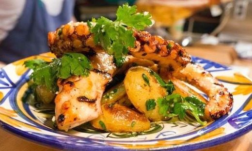 Ricetta Insalata di polipo e patate - Brindisiweb.it