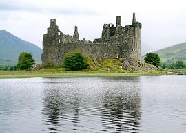 Kilchurn Castle near Lochawe, Scotland