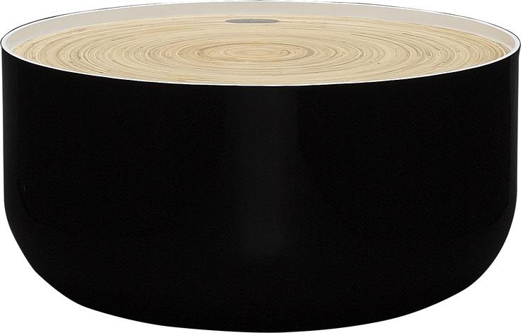 Blyth bord med oppbevaring. Fåes i flere størrelser. Dimensjoner: D60 x H29 cm. Kr. 1215,-