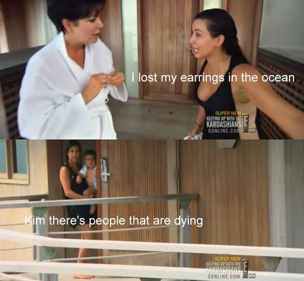 This is why the Kardashians are stupid... but they're so funny to watch :p