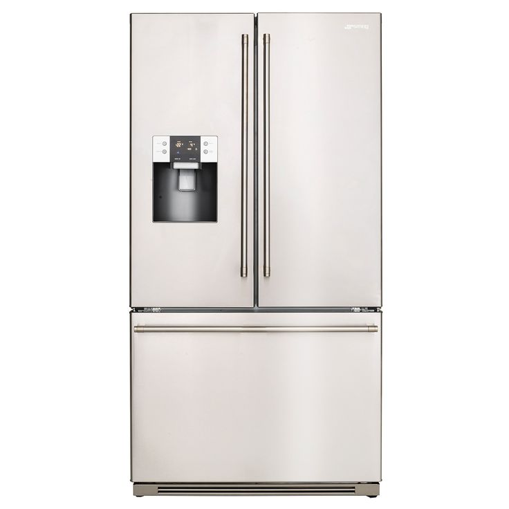 This Smeg French Door refrigerator has been designed with elegance in mind, complete with bar handles on the doors and a stylish stainless steel finish. Its 762L volume provides more than enough storage space to feed a family of five … Continued