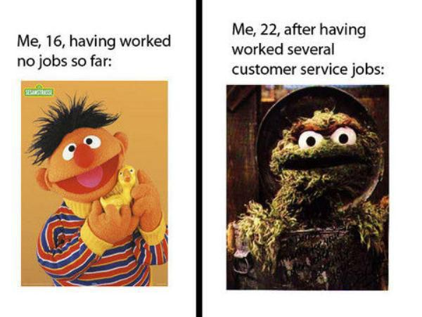 respect to retail and customer service employees!!!!!!!!!!!!!