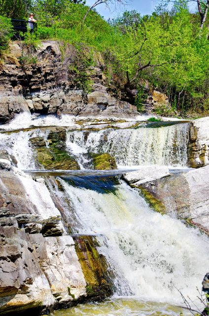Hogsback Falls in Ottawa - accessible via a bike ride from downtown