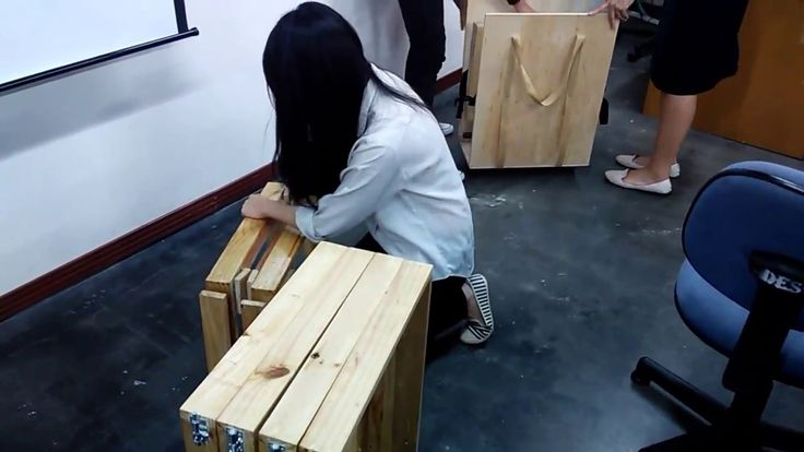Picnic table flatpack by Carmen and Kezia Andita, uph dp2014 WS2, Feb 2017