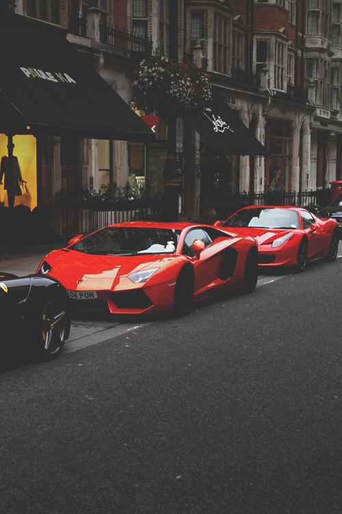 supercars-photography:  Ferrari F12, Lamborghini Aventador, Ferrari 458 Spyder (via) Supercars