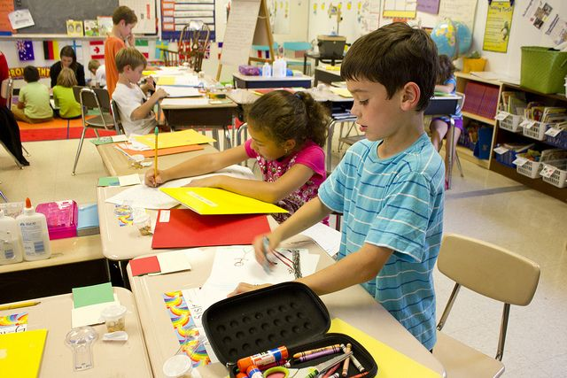 second grade writing class | Flickr: Intercambio de fotos