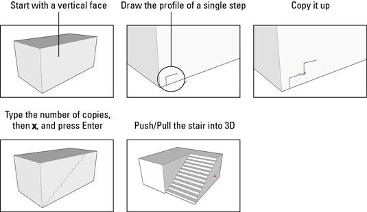Lesson 7 Alternative method to build a staircase