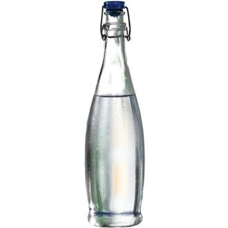 1 litre Glass Bottle water dispenser. Commercial catering supplies for your Restaurant, Bar, Pub or Cafe.