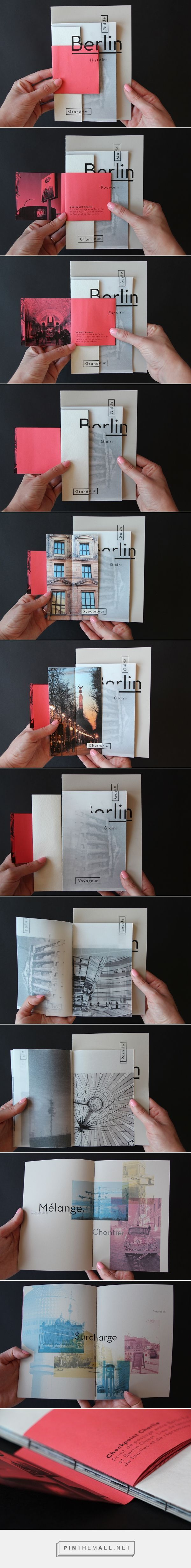 Fragments d'un voyage on Editorial Design Served