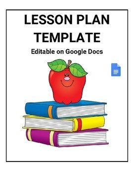 a532ccbe9c0 Lesson Plan Template (Editable in Google Docs) - Roombop